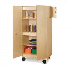 Jonti-Craft Hideaway Classroom Storage Cabinet, Mobile