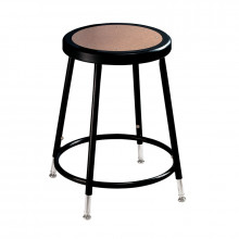 """NPS 19"""" - 27"""" Height Adjustable Science Lab Stool (Shown in Black)"""