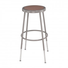 "NPS 31"" - 39"" Height Adjustable Round Science Lab Stool, 6230H"