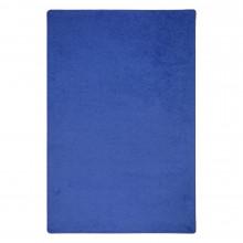 Joy Carpets Endurance Solid Color Classroom Rug, Royal Blue