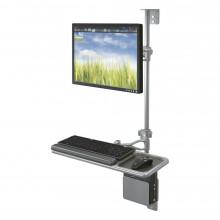 Balt 90377 Single Monitor Adjustable Wall Mount Workstation