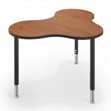 "Balt Cloud 9 36"" x 25"" Collaboration Student Desk (Amber Cherry)"