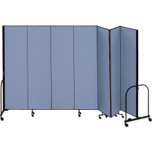 ScreenFlex Freestanding Portable Configurable Room Dividers - Shown in Blue
