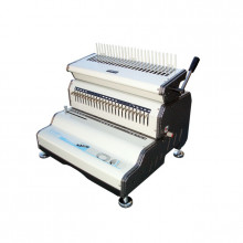 Akiles CombMac-24E Heavy-Duty Electric Punch Plastic Comb Binding Machine