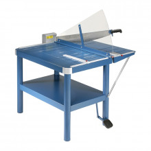 "Dahle 580 32"" Premium Large Format Paper Cutter Guillotine with Stand"