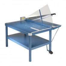 "Dahle 585 43-1/4"" Premium Large Format Paper Cutter Guillotine with Stand"