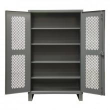 Durham Steel Adjustable 4-Shelf Ventilated 12 Gauge Cabinets