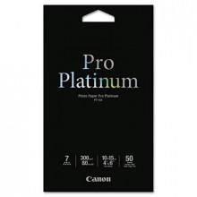 "Canon Pro Platinum 4"" X 6"", 80lb, 50-Sheets, High-Gloss Photo Paper"