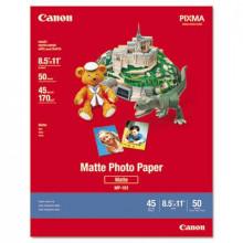 """Canon 8-1/2"""" x 11"""", 8.5 mil, 50-Sheets, Matte Plus Photo Paper"""