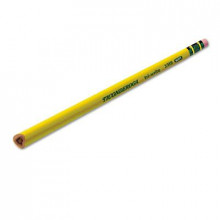Dixon Ticonderoga Tri-Write #2 Yellow Woodcase Triangular Pencils, 12-Pack