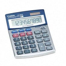 Canon LS100TS Portable 10-Digit Desktop Business Calculator