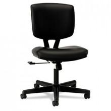 HON Volt 5701 Swivel-Tilt Leather Mid-Back Task Chair