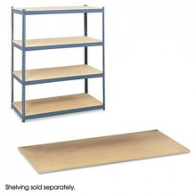 """Safco Archival 5261 69"""" W x 33"""" D 4-Pack Extra Particleboard Shelves"""