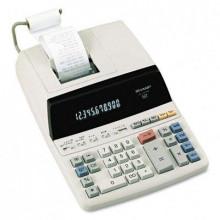 Sharp EL1197PIII Two-Color 12-Digit Printing Desktop Calculator