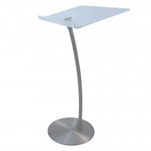 Amplivox Steel Column Arc Lectern, Anti-Reflective Surface