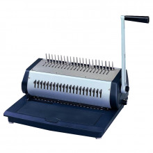 Tamerica TCC2100 Manual Comb Punch and Bind Machine w/ Storage