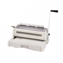 Tamerica TCC242 DURABIND Two Handle Punch and Comb Binding Machine