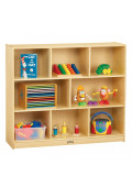 Jonti-Craft Mega Mobile Single Classroom Storage Unit