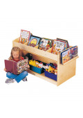 Jonti-Craft ThriftyKYDZ Mobile Book Browser Stand
