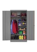 Tennsco Combination Wardrobe and Storage Cabinets