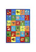 Joy Carpets Bilingual Phonics Rectangle Classroom Rug