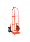 "Wesco 126 Series Single Pin Handle 600-800 lb Load 14"" Nose Hand Trucks"