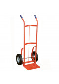 "Wesco 136 Series Two Handle Tapered Body 600-800 lb Load 14"" Nose Hand Trucks"