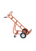 Wesco 186 4-Wheel 800-900 lb Load Steel Hand Trucks