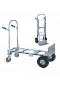 "Wesco Cobra Jr 16"" Extruded Nose 560-1200 lb Load Convertible Hand Trucks"