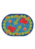 Carpets for Kids Alphabet Caterpillar Classroom Rug
