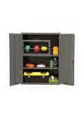 Durham Steel 16-Gauge Storage Cabinets, Assembled