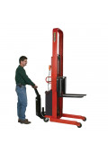 Wesco Fully Powered 1500 lb Load Electric Fork Stackers