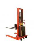 Wesco Powered Lift 2000 lb Load Electric Fork Stackers