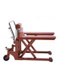 "Wesco PLFTR Hydraulic Pallet Lifter 1100 lb Load, 27"" W x 44"" L"