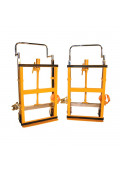 """Wesco Hydraulic Furniture Movers 3950 lb Load, 10"""" Lift, Pair"""