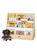 Jonti-Craft Double Sided Pick-a-Book Display Stand