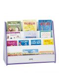 Jonti-Craft Rainbow Accents Double Sided Pick-a-Book Display Stand