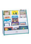 Jonti-Craft Rainbow Accents Flushback Pick-a-Book Display Stand