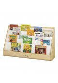 "Jonti-Craft Flushback 36"" W Wide Pick-a-Book Display Stand"