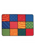 Carpets for Kids Patterns at Play Rectangle Classroom Rug
