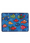 Carpets for Kids Something Fishy Rectangle Numbers Classroom Rug