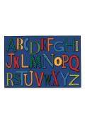 Carpets for Kids Playful Alphabet Rectangle Classroom Rug