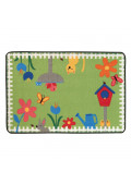 Carpets for Kids Garden Time Rectangle Classroom Rug