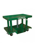 "Lexco 3000 to 6000 lb Load 48"" x 30"" Portable Manual Hydraulic Lift Tables"