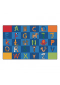 Carpets for Kids A to Z Animals Alphabet Classroom Rug