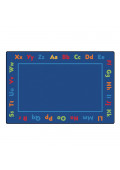 Carpets for Kids Alphabet Rectangle Classroom Rug
