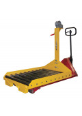 Vestil Battery Transfer Attachment with Winch for Pallet Truck 4000 lb Capacity
