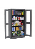 "Tennsco 36"" W x 72"" H Standard C-Thru Storage Cabinets"