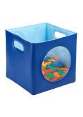 ECR4Kids SoftZone Peek-A-Boo Storage Bin