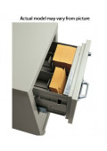"""FireKing 2-Section Insert for 5"""" H x 9-3/4"""" W Cards for Card/Check Files"""